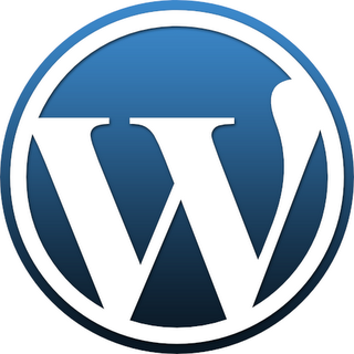 Logotipo do WordPress - fonte: wiki.lxde.org