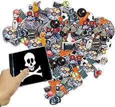 Pirataria - imagem: tecnologia-e-cinema.com