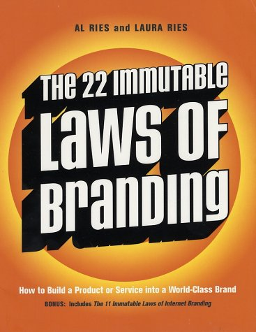The 22 Immutable Laws of Branding - imagem: bookcloseouts.com