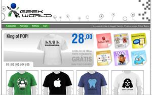 Geek World - artigos para o mundo geek - geekworld.com.br