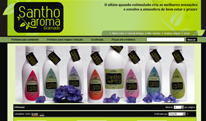 Santho Aroma - aromas e perfumes - santhoaroma.com.br