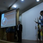 1o. Encontro de Magento Commerce - palestra de Fernando Fabrício - foto: Luiz Rauber