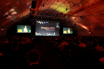 Magento Imagine 2012 - imagem: magentocommerce.com