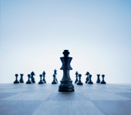 o planejamento estratégico lembra muito uma partida de xadrez - imagem: Gregor Schuster/Photographer's Choice
