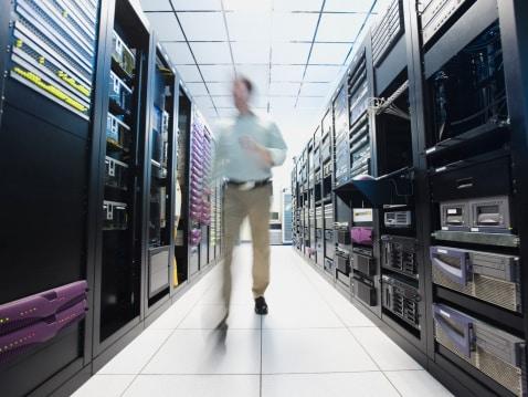 Datacenter - imagem: Erik Isakson/Tetra Images