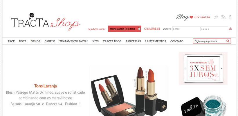 Tracta Shop - imagem: reprodução