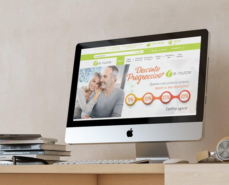 Case VitaminaWeb - E-Nutri - E-Commerce