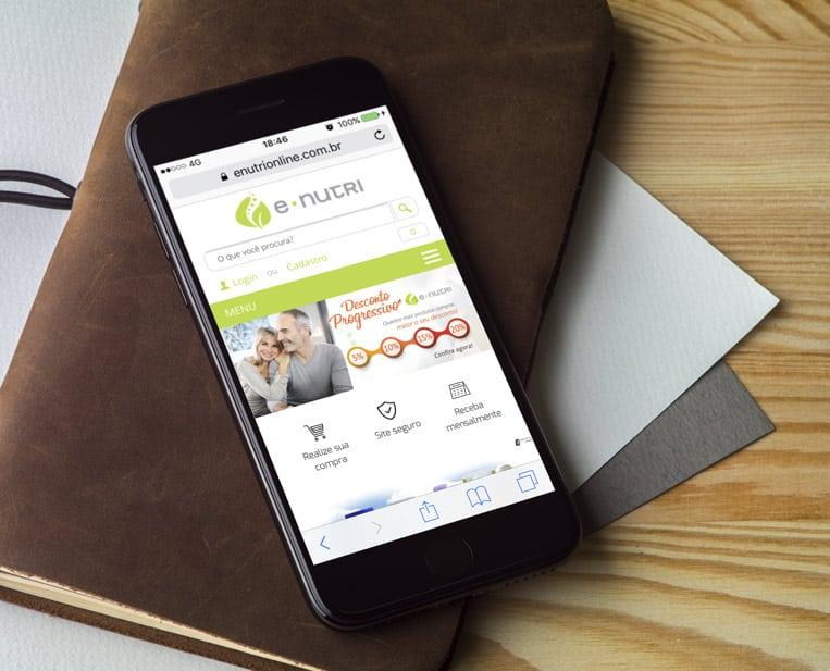 Case VitaminaWeb - E-Nutri - E-Commerce Mobile
